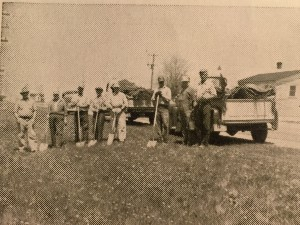 The Highway Department workers. Circa 1950